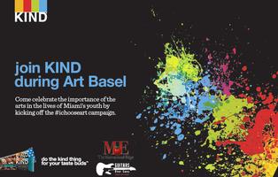 KIND's #ichooseart Showcase & Gallery Night (Art Basel...
