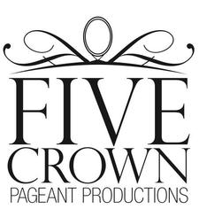 Five Crown Pageant Productions, LLC. (O) 202-744-6022 logo