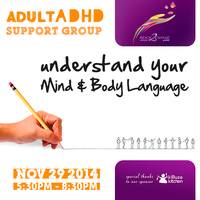 Understand your Mind & Body Language   Adult ADHD/ADD...