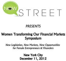 Women Transforming our Financial Markets Symposium