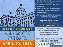 3rd Annual MO Muslim Day at the Capitol