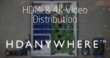 HDMI & 4K Video Distribution with HDanywhere - AWE...