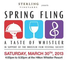 Spring Fling - A Taste of Whistler