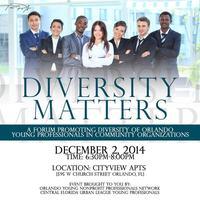 December Professional Development Event: Diversity...