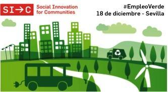 Presentación innovaciones #EmpleoVerde Sevilla
