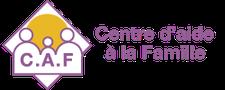 C.A.F. Centre d'aide à la famille logo