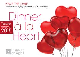 Institute on Aging presents 2015 Dinner à la Heart...