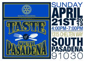 Taste of South Pasadena