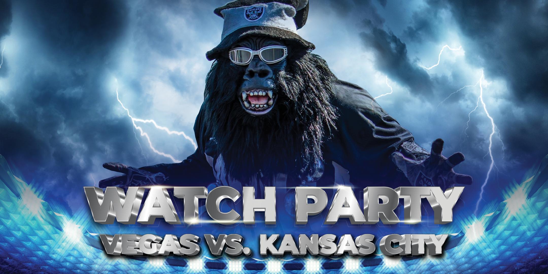 Vegas vs Kansas City Watch Party With Gorilla Rilla at SAHARA Las Vegas
