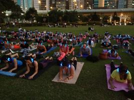 Silent Yoga Party