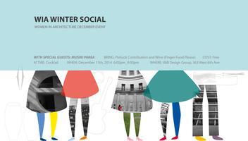 WIA-Women In Architecture Winter Social