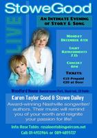 Stowegood: An Intimate Evening of Story and Song