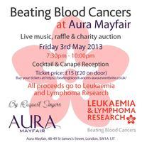 Beating Blood Cancers @ Aura Mayfair