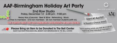 AAF Birmingham Holiday Art Party & Silent Auction