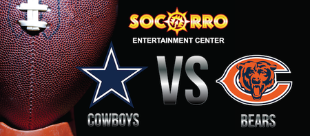 Dallas Cowboys VS Chicago Bears With Hollywood...
