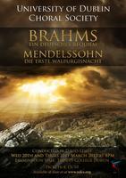 Brahms Requiem and Mendelssohn Die erste Walpurgisnacht