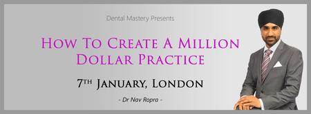 How To Create A Million Dollar Practice - 7th January...