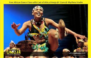 Free Dance Class with Cast of Africa Umoja