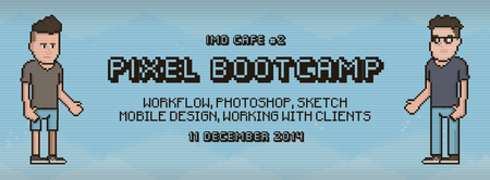IMD Café 2: Pixel Bootcamp