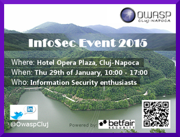 OWASP Cluj-Napoca InfoSec Event 2015
