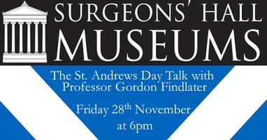 St. Andrews Day Talk with Professor Gordon Findlater