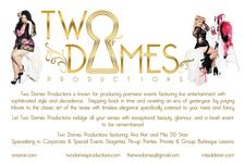 Two Dames Productions  logo