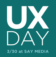 User Experience Day
