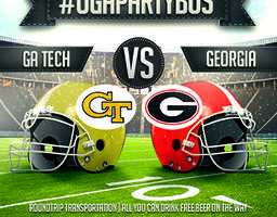 #UGAPartyBus - UGA vs. GA Tech #UGAPartyBus