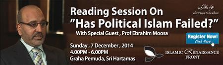 "Reading Session on ""Has Political Islam Failed?"""