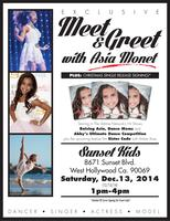 Asia Monet's Exclusive Meet & Greet Christmas Single...