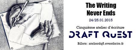 Atelier d'écriture IRL DraftQuest - Janvier 2015
