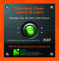 Cleantech Startup Launch & Learn
