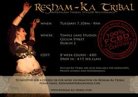 American Tribal Style Belly Dance Classes with...