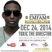 EMFAM Christmas Concert 2014