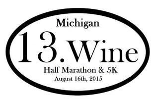 2015 Michigan 13.Wine Half Marathon & 5K