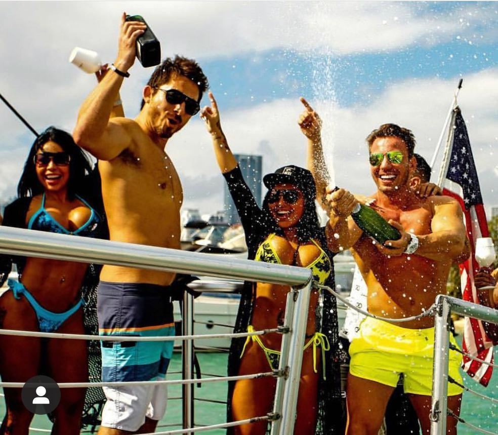 #Party Boat South Beach