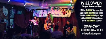 Bik presents: Willowen + Bumbleberry The Art House \\...