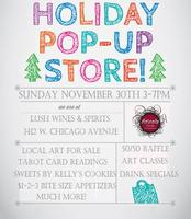 """Make or Take Holiday Pop Up Shop """"Readings with Chris..."""