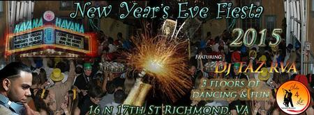 New Year's Eve 2015 Fiesta @ Havana'59