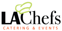 LA CHEFS CATERING & EVENTS logo