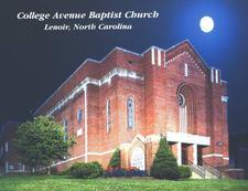 College Avenue Baptist Church logo