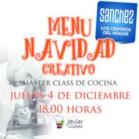 MASTER CLASS DE COCINA CON JAVIER VILCHEZ