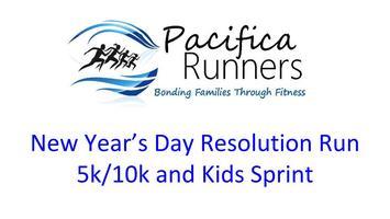 Pacifica Runners New Year's Day Resolution Run 5k/10k...