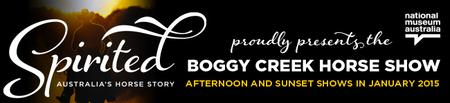 Boggy Creek Horse Show Saturday 17 January