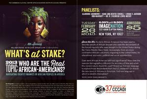8th Annual Re-Defining African American Convening:...