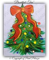 "Paint Party - ""Bowtiful Tree"""