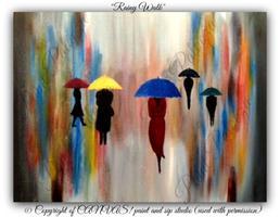 """Paint Party - """"Rainy Walk"""""""