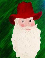 """Paint Party - """"Cowboy Santa"""""""