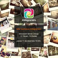 Taller exclusivo Instagramers   Tienda Orange Sevilla