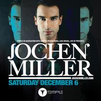 Jochen Miller at the New Temple Nightclub